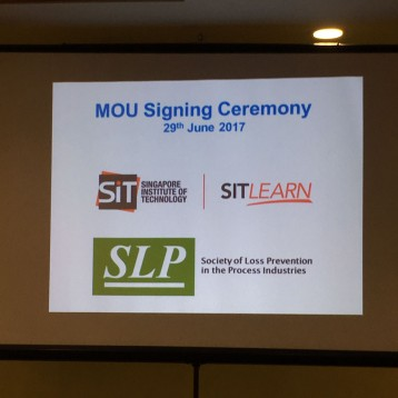 MOU Between SLP  and SIT (Singapore Institute Of Technology)